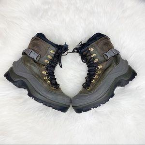 Sorel Conquest Winter Boots Waterproof Buckle 8